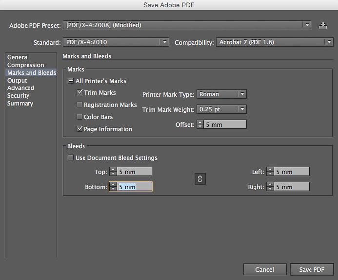 Como fechar o PDF pelo Illustrator