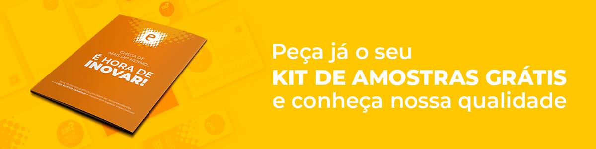 Kit de Amostras Gratutito